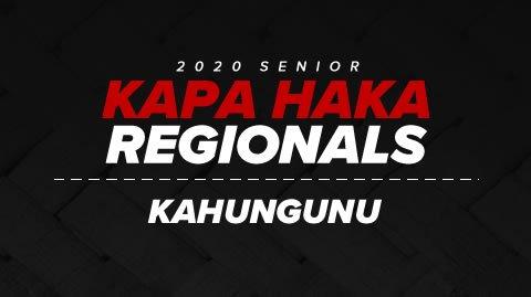 Regionals 2020 - Kahungunu