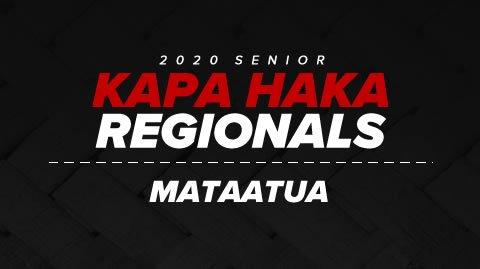 Regionals 2020 - Mataatua