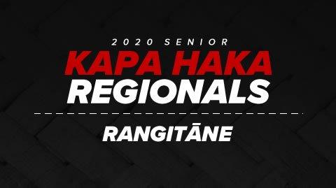 Regionals 2020 - Rangitāne