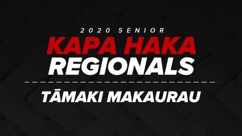 Regionals 2020 - Tāmaki Makaurau