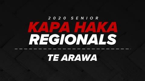 Regionals 2020 - Te Arawa
