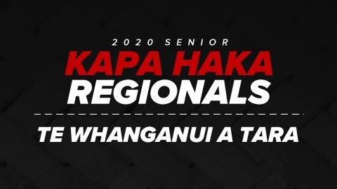Regionals 2020 - Te Whanganui a Tara
