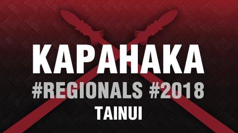 Regionals 2018 - Tainui