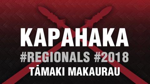 Regionals 2018 - Tāmaki Makaurau