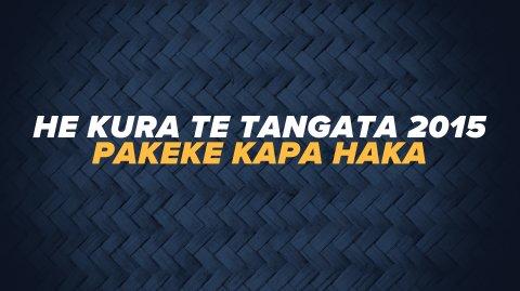 He Kura Te Tangata 2015 - Pakeke Kapa Haka