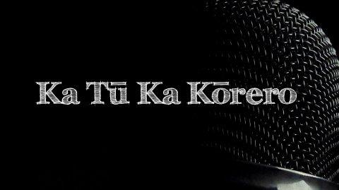 Ka Tū Ka Kōrero