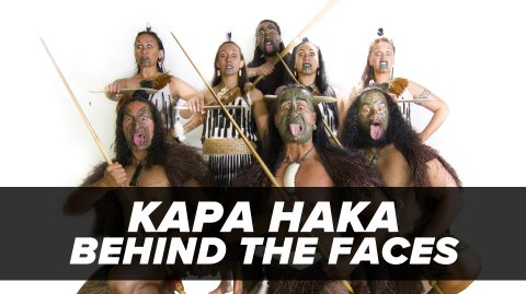 Kapa Haka: Behind the Faces