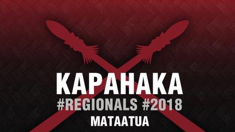 2018 Kapa Haka Regionals - Mataatua