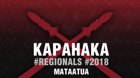 2018 Kapa Haka Regionals - Mataatua