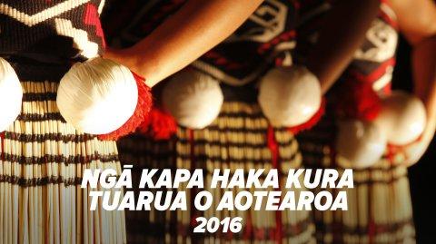 Ngā Kapa Haka Kura Tuarua o Aotearoa 2016