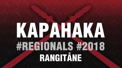 2018 Kapa Haka Regionals - Rangitāne