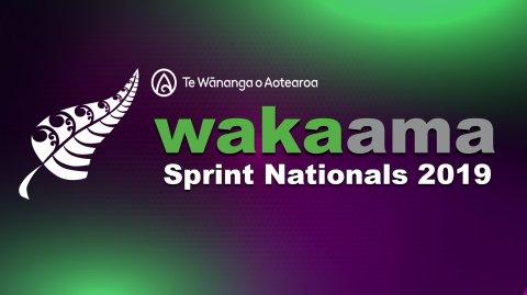 Waka Ama Sprint Nationals 2019