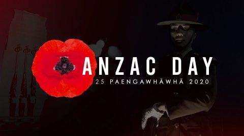 ANZAC DAY 2020