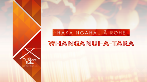 Haka Ngahau ā-Rohe 2021 - Whanganui-a-tara