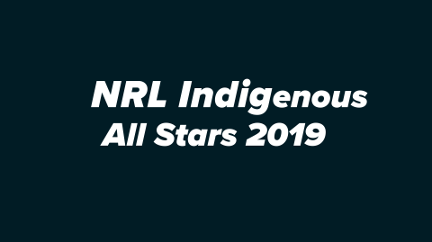 NRL Indigenous All Stars 2019