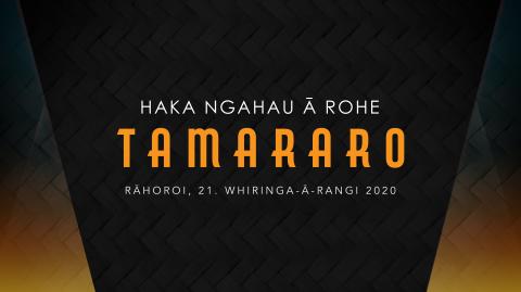 Haka Ngāhau ā Rohe - Tamararo