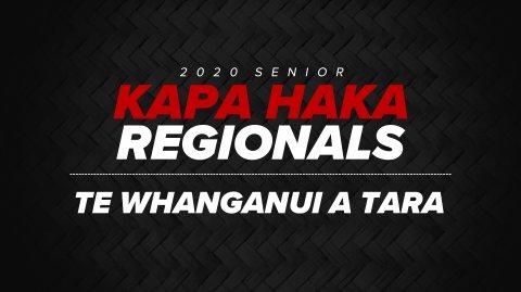 2020 Kapa Haka Regionals - Whanganui a Tara