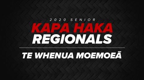 2020 Kapa Haka Regionals - Te Whenua Moemoeā