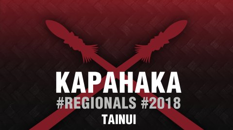 2018 Kapa Haka Regionals - Tainui