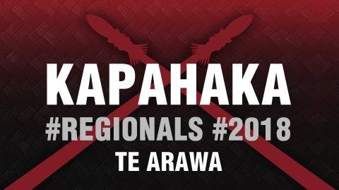 2018 Kapa Haka Regionals - Te Arawa