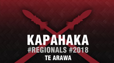 2018 Kapa Haka Regionals - Te Arawa