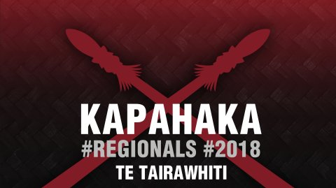 2018 Kapa Haka Regionals - Te Tairāwhiti