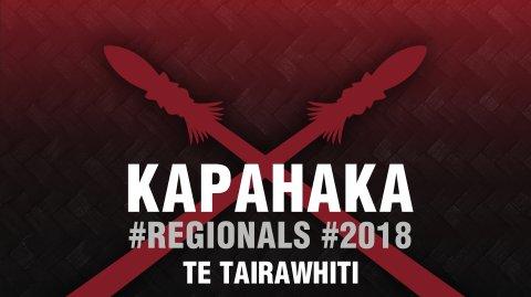 2018 Kapa Haka Regionals - Te Tairāwhiti