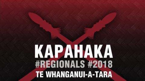 2018 Kapa Haka Regionals - Te Whanganui-a-tara