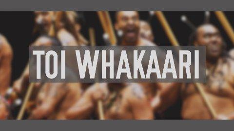 Toi Whakaari