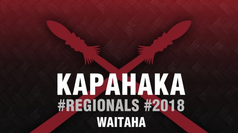 2018 Kapa Haka Regionals, Waitaha