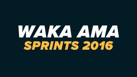 2016 Waka Ama Sprints