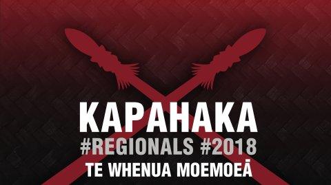 2018 Kapa Haka Regionals - Te Whenua Moemoeā
