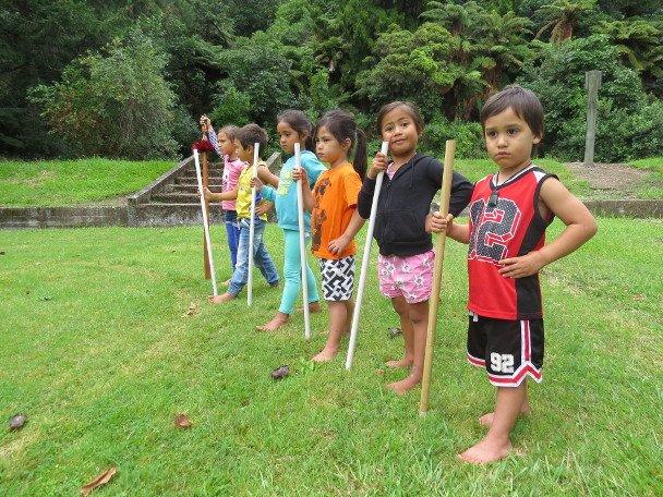 Standing ready! (Whakataa)