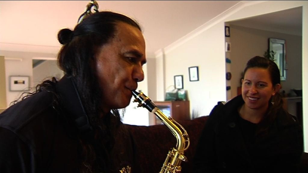 2SHOT with saxophone