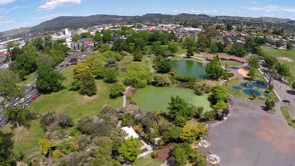 High angle WS Kuirau Park Rotorua