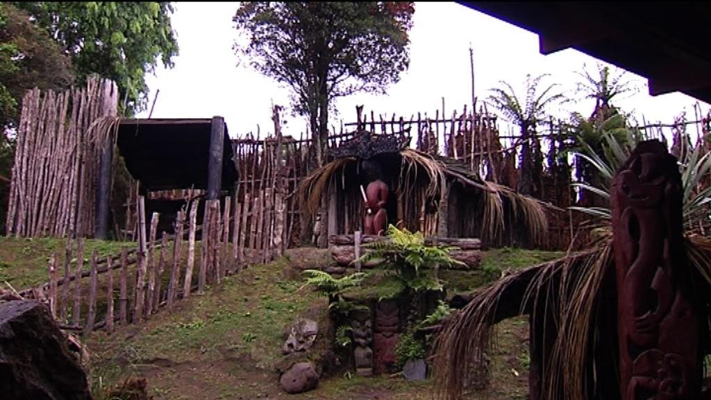 Hillside at Mitai village