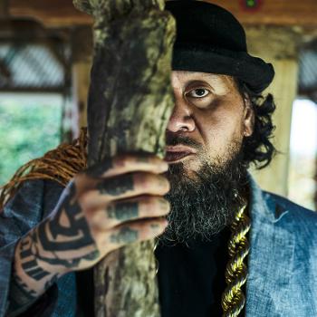 Samoan hip-hop artist Kas Futialo, aka Tha Feelstyle