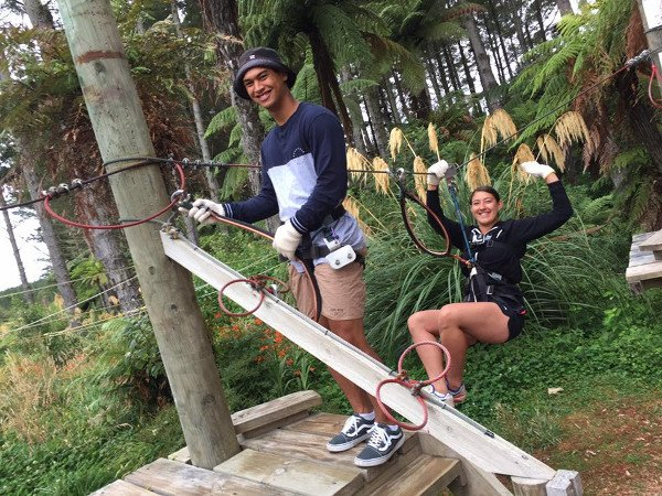 2shot Rereahu and Waioira learning the ropes