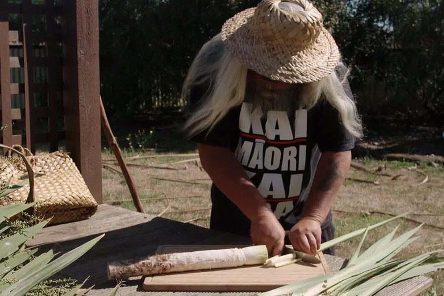 Karl Russel works with Tī Kōuka