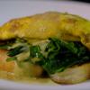 Cam's Kai - Kina omelette with lemon sauce