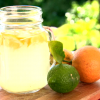 Hot Lemon Drink on display