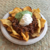 Aotearoa Nachos presented on a plate