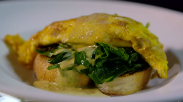 Cam's Kai - Kina omelette with lemon sauce