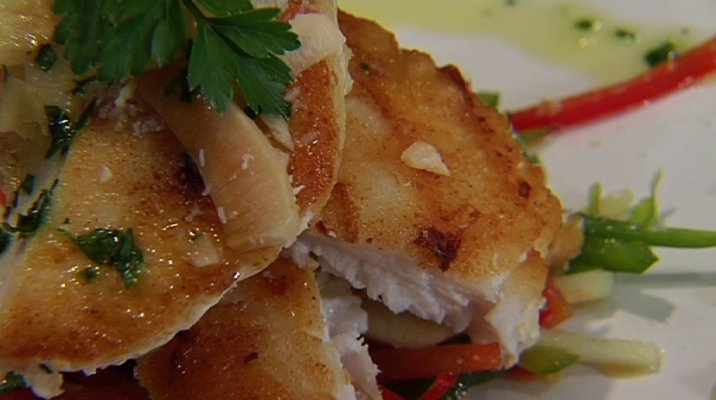 Grilled Groper Fillet