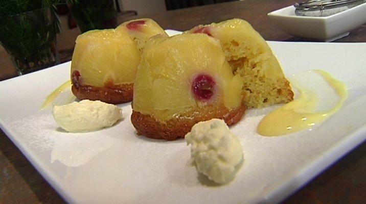 Pineapple Duge Pudding
