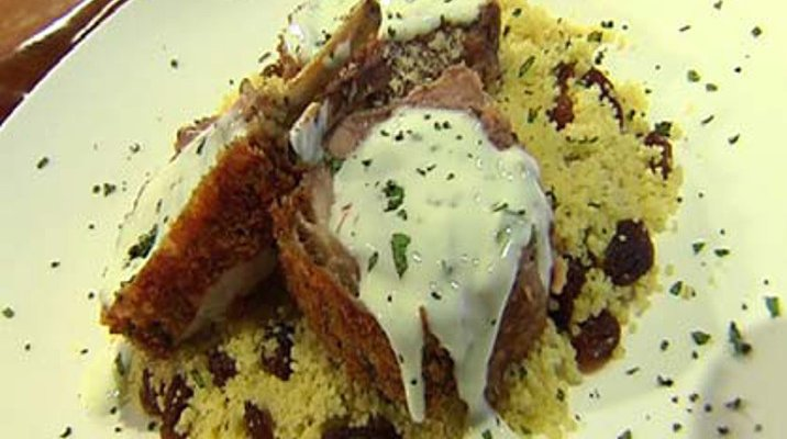 Lamb Rack and Couscous