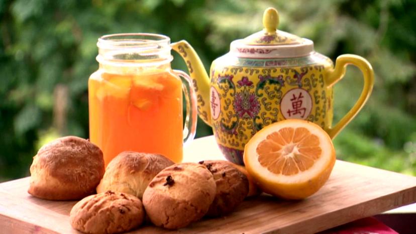 Lemon Tea on display