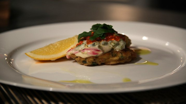 Seafood Fritter