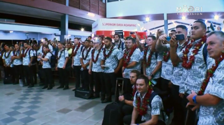 All Blacks arrive to Samoa - Photo / file