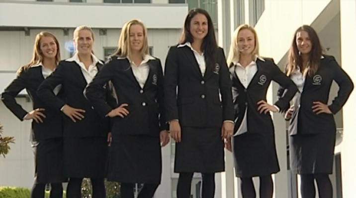 NZ Black Sticks Women's Hockey team